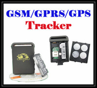 Wholesale DHL free mini Car Tracker GPS GPRS GSM GPS TRACKER TRACKING SYSTEM TK102 global smallest GPS