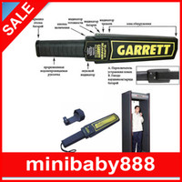 Wholesale 20pcs Garrett Handheld Super Scanner Metal Detector Professional Tool for Customs