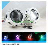 Wholesale New Inch Bi Xenon Projector Lens Headlight Single Angel Eyes