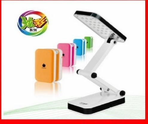 Livraison gratuite 666 led charge lamp eye study table lamp lampe de bureau Fold