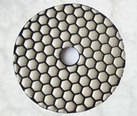Wholesale 4 quot mm Diamond Dry Flexible Polishing Pads for Hand Machine
