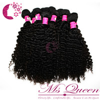 Wholesale brazilian virgin curly hair weaves human weft hair extensions b black natural color