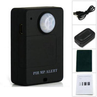 Wholesale Wireless PIR Sensor GSM Alarm System Alert Motion Detection Monitor Remote Control