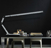 Wholesale Modern Creative LED Long Arm Folded Acrylic Desk Lamp Learning Work Drawing Eye Protector Table lamp