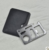 army survival kit - 11 in Emergency Outdoor Multi Tool Army marine military Hunting Survival Kit Pocket