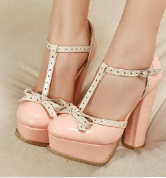 Discount Cute Chunky Heels | 2017 Cute Chunky Heels on Sale at ...