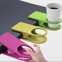 Wholesale Table Glass Water Cups Clip Drinklip Cup Holder Glass Holder Mug Office Tumblerful Glass Clamp