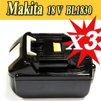 Cheap 3 pack new replacement Makita 18v 3Ah li-lon battery for power tool A+++++