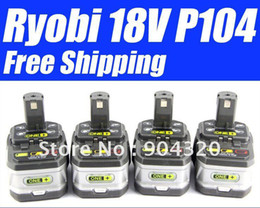 4 Pieces X Ryobi 18V 2.4Ah lithium-Ion Battery - USD 173.00 TOTAL Free Shipping!