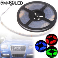Wholesale 5M RGB Flexible Waterproof Strip Lights with SMD5050 LED for Car Christmas Decoration