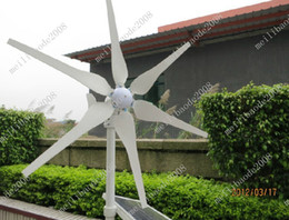 Wholesale 2pcs O72 W Hyacinth Wind Generator Full Power Windmill Wind Turbine High Quality V