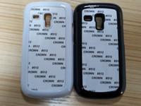 Cheap S3 mini DIY sublimation blanks Hard plastic case for Samsung Galaxy S3 mini i8190 DHL Fedex free 100pcs lot