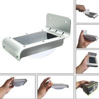Wholesale New Arrive Solar Power Motion Sensor Detector LED Light Garden Path Wall Waterproof Lamp Light