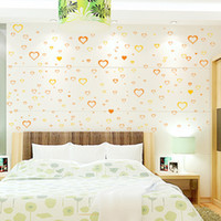Wholesale Wall stickers bedroom romantic love marriage room living room home outfit decoration wall stickers