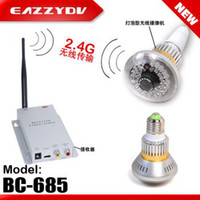 Wholesale Patented design BC E27 Lamp design G Wireless Bulb CCTV Security DVR Camera set with AV OUT
