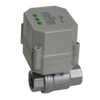 Wholesale Timer Drain Electric Ball Valve SS304 AC DC9 V AC110V V available