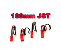 Wholesale 100mm JST Plug Battery ESC Male amp Female Wire Pin Connector