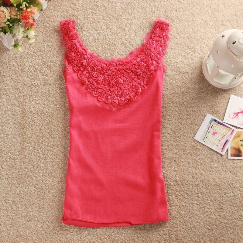 Fashion apparel Summer Korea Vest tank tops women, View tank tops