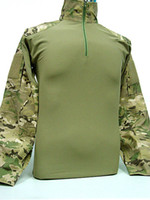 Wholesale USMC Army Military Tactical Combat Shirt Multi Camo Hunting Shirt