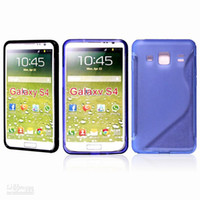 Wholesale freeshipping S Line Case Gel S Wave Skin cell phone Case for Samsung Galaxy S4 SIV i9500 mixed color