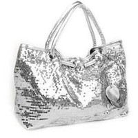 Wholesale New fashion elegant sequins handbag shoulder bag colors womens