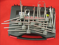 Flagpole lock gun safe - 12pcs generation locksmith for Flagpole lock Diebold tiger safe picklock tools lock pick lock tools for locksmith