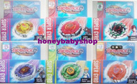 Wholesale 192PCS models Beyblade Metal Fusion Super Gyro AA Spinning Tops Toy as Gifts Baby beyblade