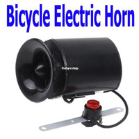 Plastic electronic siren - New Sounds Black Bicycle Electronic Bell Alarm Siren Horn Loud Speaker with Retail