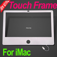 Wholesale Brand New The World s First quot Infrared Touch Frame Housing Case Mask for iMac Classic Free FEDEX