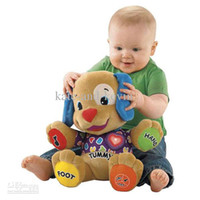 Wholesale Retail Musical Dog Fisher Price Laugh amp Learn Love to Play Puppy Baby Plush Musical Toys