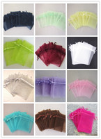Wholesale 1000 organza gift bags wedding favor christmas gift bag jewelery bag cm