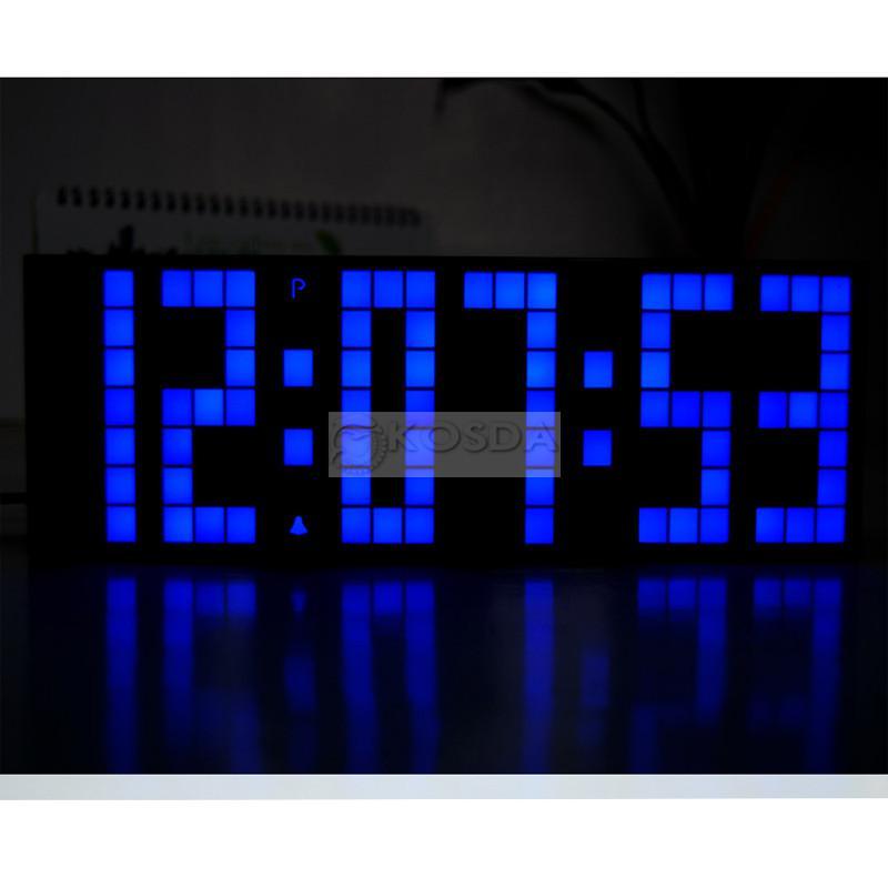 Chihai Digital Led Clock Wall Alarm Digital Calendar Clock