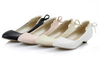 Wholesale N024 Sweet women s soft toe pointed shoes low top shoes