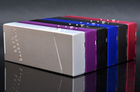 Rectangular   Free shipping Travel Aluminum Cigar Cigarette Case lighter box case (mix colors)