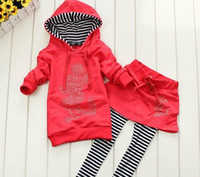 2013 Girls Cute Micky Mouse Pattern Long Sleeve Top Hoody Sw...