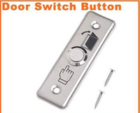 Wholesale 50pcs O83 Stainless Steel Mini Door Exit Push Release Button Switch for Access Control