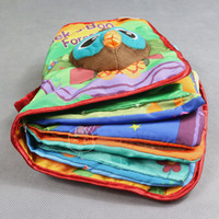 Wholesale LAMAZE Classic Baby Discovery Book Soft Activity Book Infant toy toys baby Cloth Book books pc L