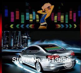 Wholesale 90 cm EL car Sticker Music Control decoration light Sexy Lady logo