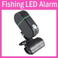 Wholesale Hot Selling Electronic Pratical Fishing Rod light Bite Alarm Fish Alarm Bells LED Light Carp