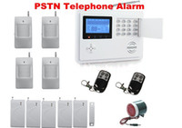 Wireless   WIRELESS HOME SECURITY SYSTEM - LCD BURGLAR FIRE ALARM HOUSE AUTO-DIALER NEW 7set lot DKHA159