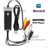 Wholesale High Recommend Grabber Video Pro Version Easycap USB DVD VHS AV Audio Capture DVR Cards Adapter