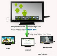 Wholesale MK808 Google Android TV BOX MINI PC Dual Core Cortex A9 RK3066 USB Dongle WIFI Skpye RAM GB GB