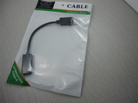 Wholesale Display Port to HDMI computer cable female connect CM UP free ship good quality