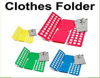 Wholesale 100pcs fast shirt folding board Magic Fast Speed Folder Clothes Shirts Folding Board for adult