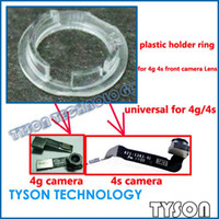 Wholesale holder ring lens plastic holder for iPhone g s gs front camera