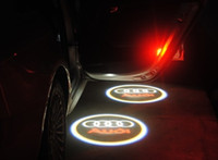Wholesale Ghost Shadow Light CAR door ight LED welcome light Projection for audi A20 GGG