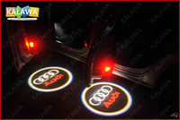 Wholesale Ghost Shadow Light door logo light LED welcome light Car Door Light with any logo Replacement for AUDI A20 GGG