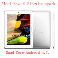 9.7 inch Android 4.1 16GB Newest Ainol Novo Spark Quad Core Android 4.1 Retina IPS AllWinner tablet Dual camera 20pcs 000060