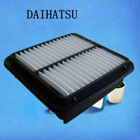 Wholesale Large car white fiber air filter for Daihatsu auto part cm C1922
