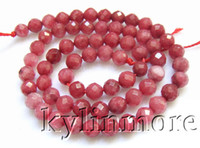 Wholesale 8SE09352a mm Jade Faceted Round Beads